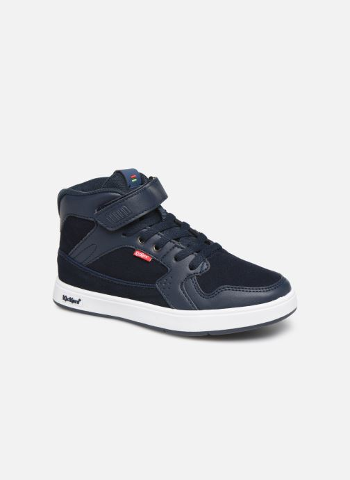 Sneakers Kickers Gready Mid Cdt Blauw detail