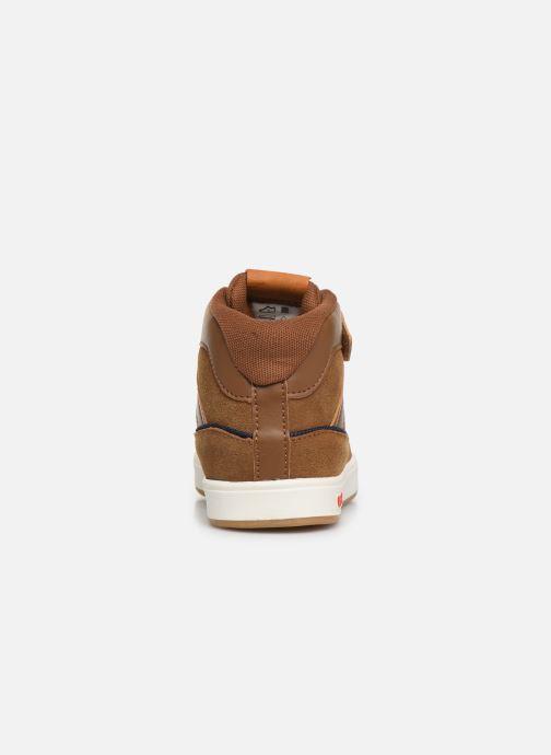 Sneakers Kickers Gready Mid Cdt Bruin rechts