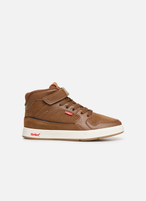 Sneakers Kickers Gready Mid Cdt Bruin achterkant