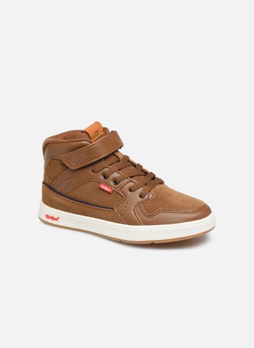 Sneakers Kickers Gready Mid Cdt Bruin detail