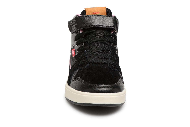Sneakers Kickers Gready Mid Cdt Svart bild av skorna på