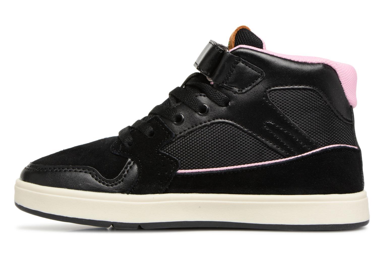 Sneakers Kickers Gready Mid Cdt Svart bild från framsidan