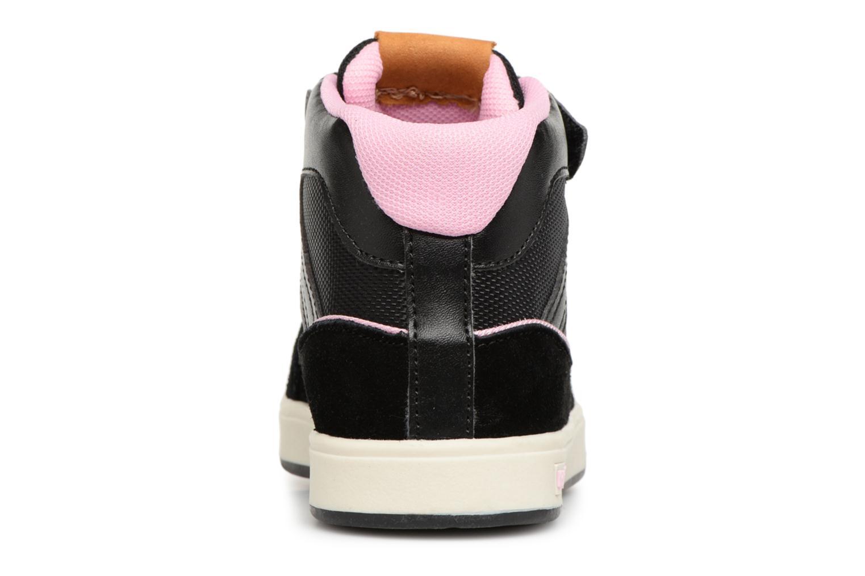 Sneakers Kickers Gready Mid Cdt Svart Bild från höger sidan