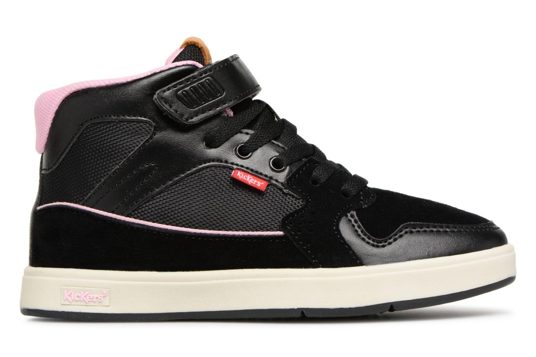 Sneakers Kickers Gready Mid Cdt Svart bild från baksidan
