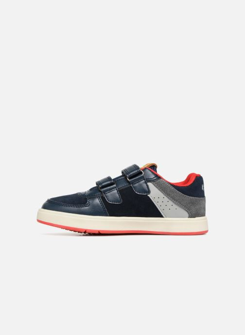 Baskets Kickers Gready Low Cdt Bleu vue face