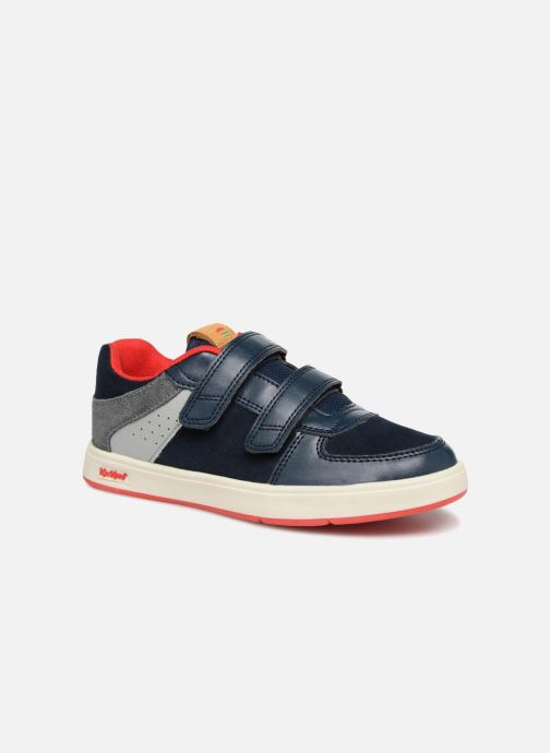 Baskets Kickers Gready Low Cdt Bleu vue détail/paire