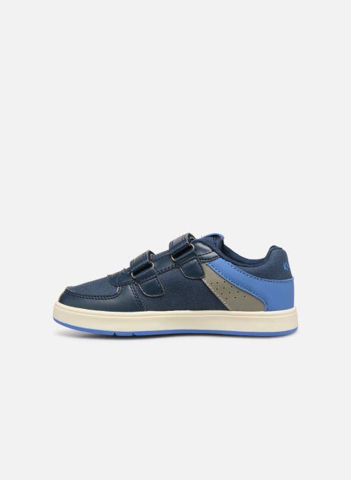Sneakers Kickers Gready Low Cdt Azzurro immagine frontale