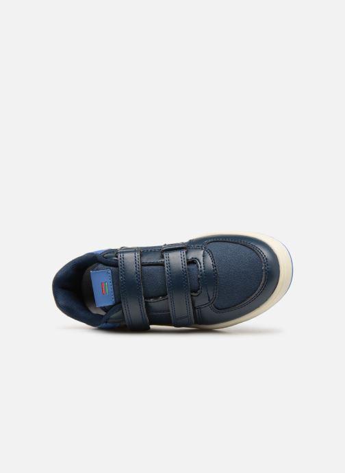 Sneakers Kickers Gready Low Cdt Azzurro immagine sinistra