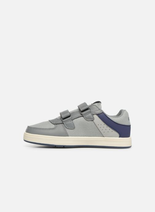 Baskets Kickers Gready Low Cdt Gris vue face