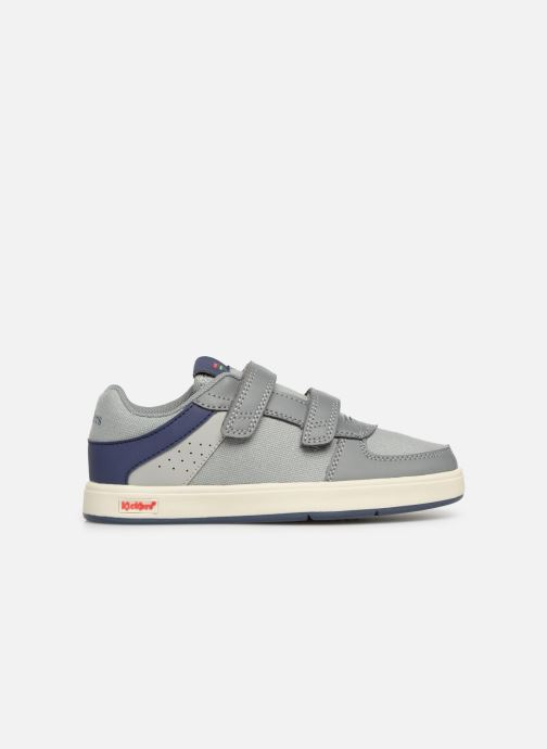 Deportivas Kickers Gready Low Cdt Gris vistra trasera