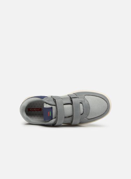 Sneakers Kickers Gready Low Cdt Grijs links
