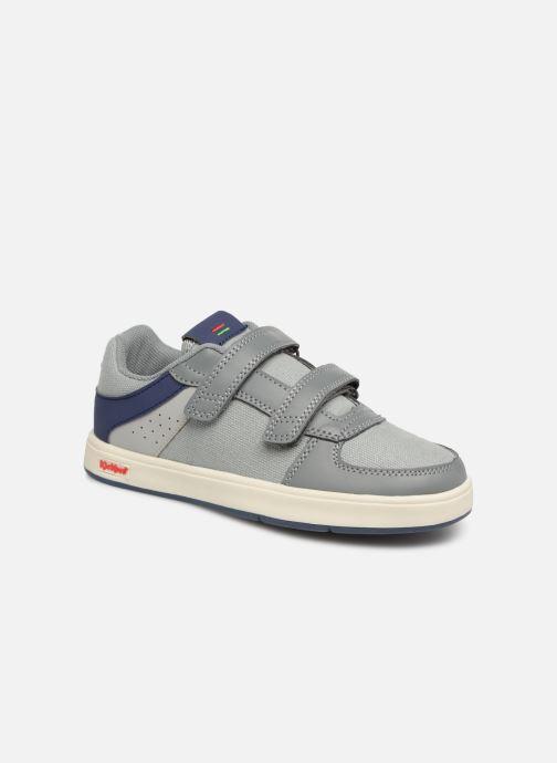 Sneakers Kickers Gready Low Cdt Grijs detail