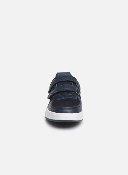 Baskets Kickers Gready Low Cdt Bleu vue portées chaussures
