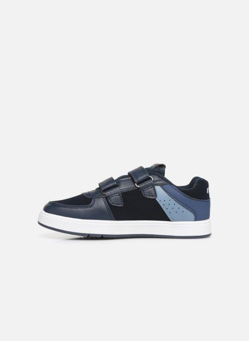 Sneakers Kickers Gready Low Cdt Blauw voorkant
