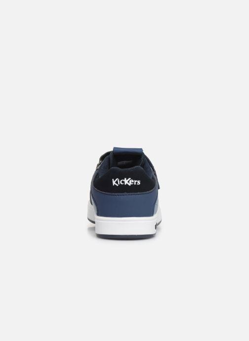 Sneakers Kickers Gready Low Cdt Blauw rechts