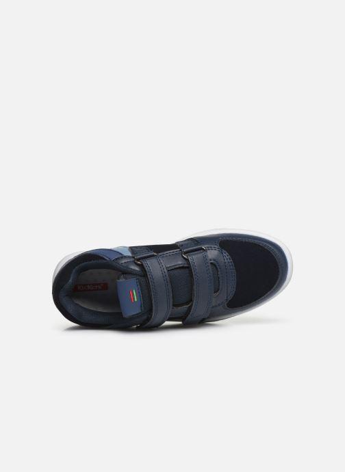 Sneakers Kickers Gready Low Cdt Blauw links