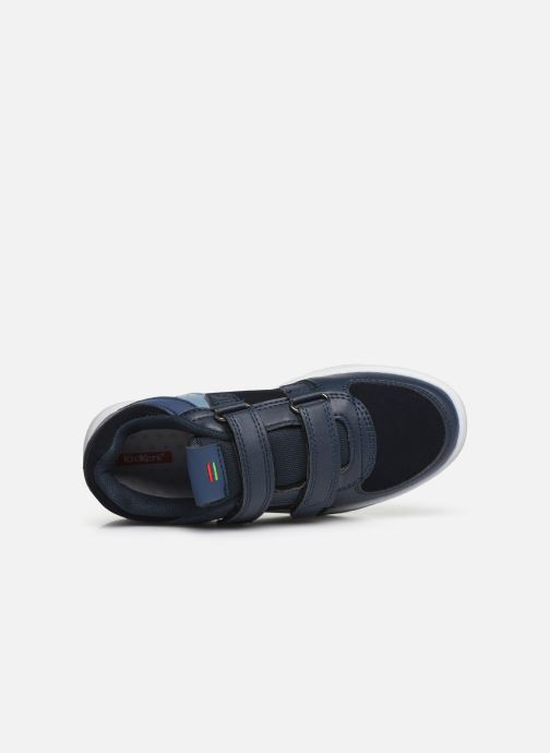 Sneaker Kickers Gready Low Cdt blau ansicht von links