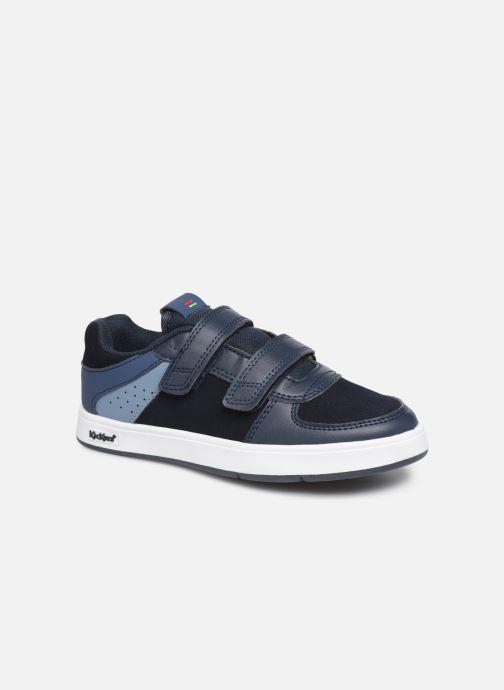 Sneakers Kickers Gready Low Cdt Blauw detail