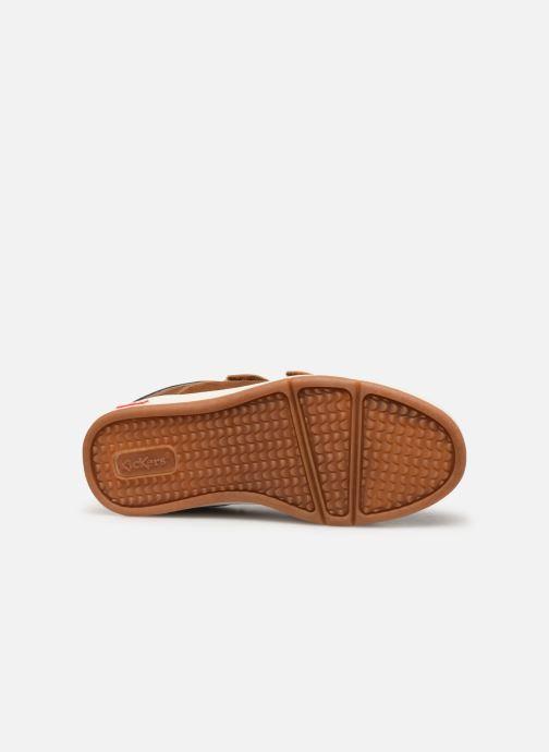 Sneakers Kickers Gready Low Cdt Bruin boven