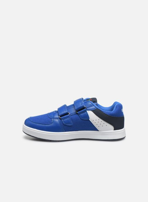 Deportivas Kickers Gready Low Cdt Azul vista de frente