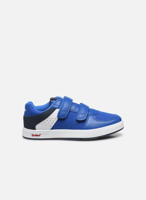 Deportivas Kickers Gready Low Cdt Azul vistra trasera