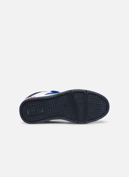 Deportivas Kickers Gready Low Cdt Azul vista de arriba