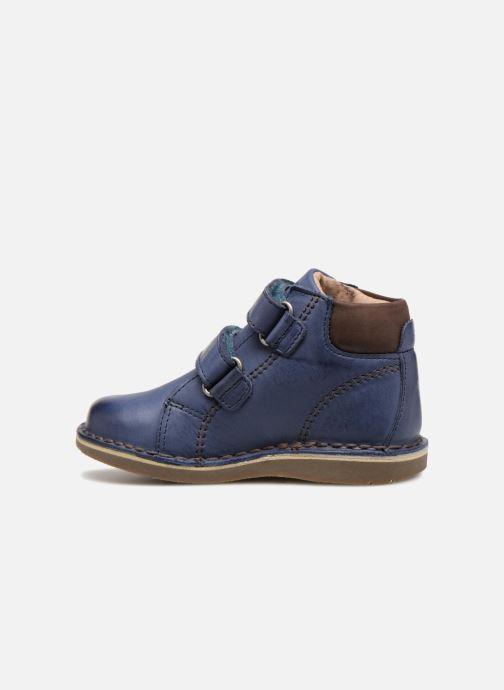 Boots en enkellaarsjes Kickers Wazzup Blauw voorkant