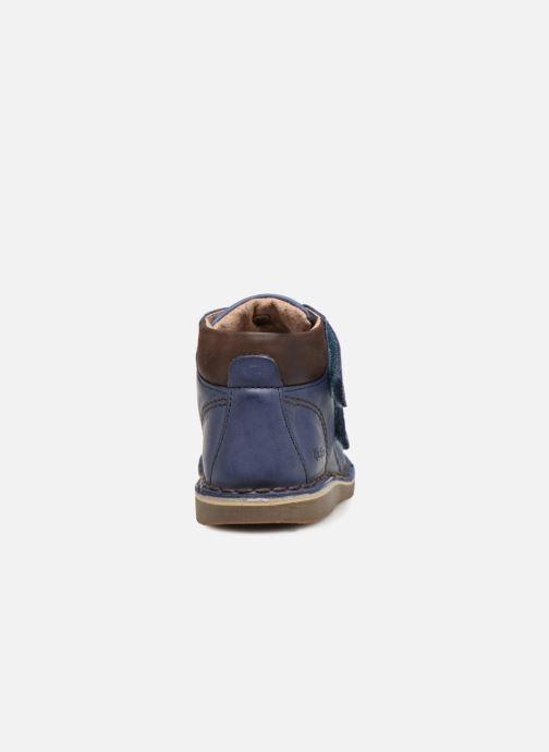 Boots en enkellaarsjes Kickers Wazzup Blauw rechts