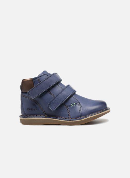 Boots en enkellaarsjes Kickers Wazzup Blauw achterkant