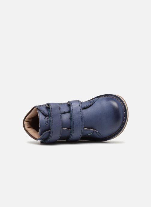 Boots en enkellaarsjes Kickers Wazzup Blauw links