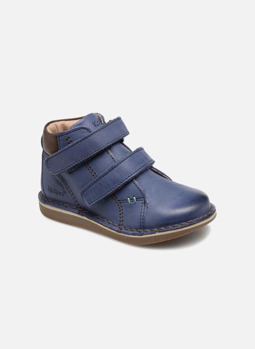 Boots en enkellaarsjes Kickers Wazzup Blauw detail