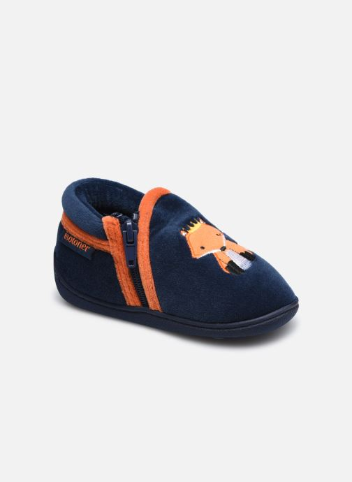 Pantoffels Kinderen Bottillon Zip Polyvelours