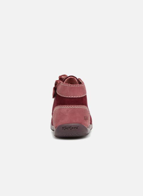 Bottines et boots Kickers Bonzip Bordeaux vue droite