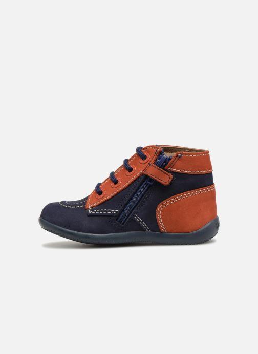 Bottines et boots Kickers Bonzip Bleu vue face