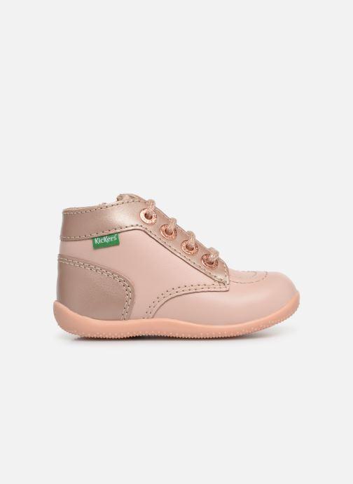 Boots en enkellaarsjes Kickers Bonzip Roze achterkant