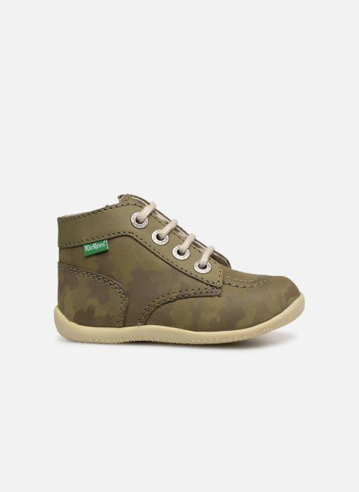 Bottines et boots Kickers Bonzip Vert vue derrière