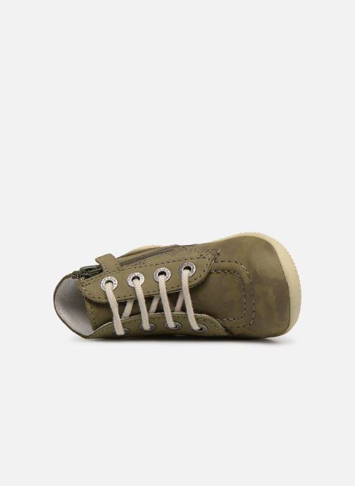 Bottines et boots Kickers Bonzip Vert vue gauche
