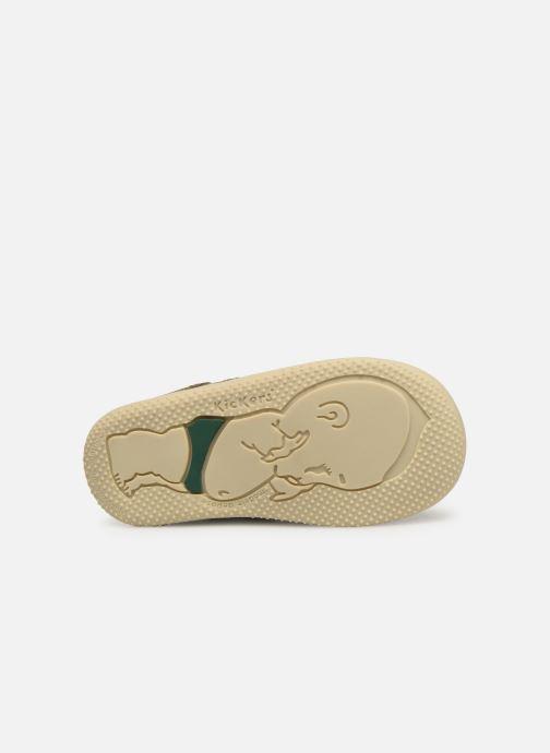 Boots en enkellaarsjes Kickers Bonzip Groen boven