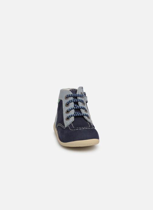 Boots en enkellaarsjes Kickers Bonzip Blauw model