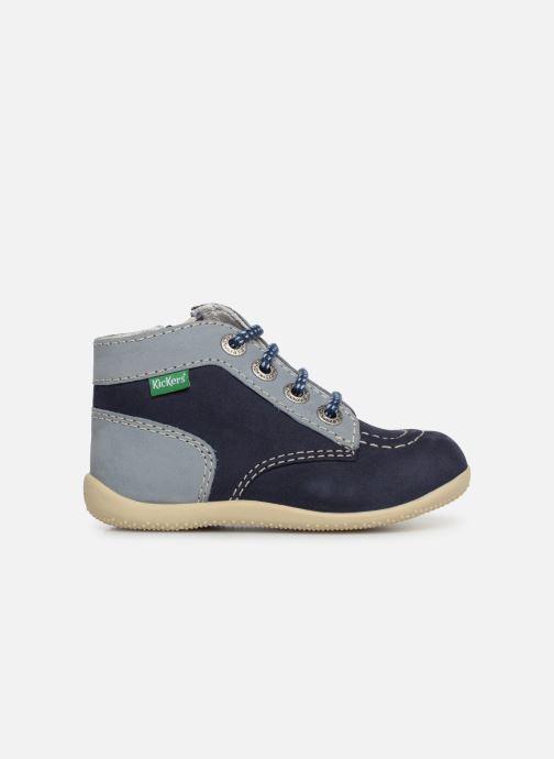 Boots en enkellaarsjes Kickers Bonzip Blauw achterkant