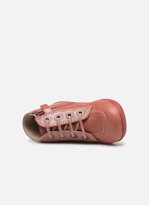 Bottines et boots Kickers Bonzip Rose vue gauche