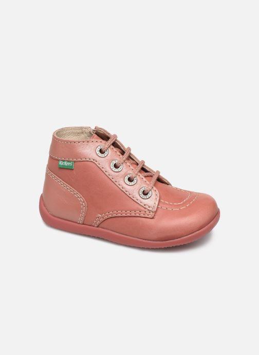 Boots en enkellaarsjes Kickers Bonzip Roze detail