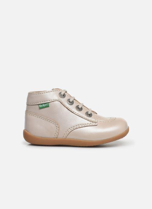 Bottines et boots Kickers Bonzip Blanc vue derrière