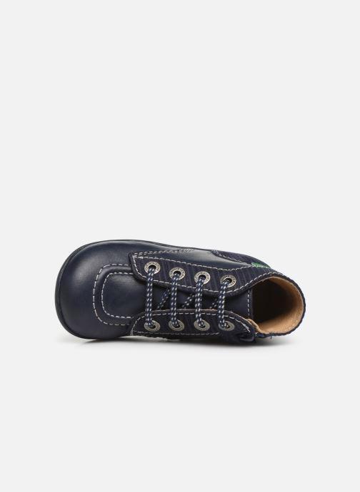 Boots en enkellaarsjes Kickers Bonzip Blauw links