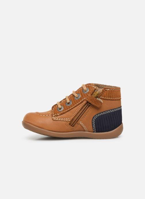 Boots en enkellaarsjes Kickers Bonzip Geel voorkant