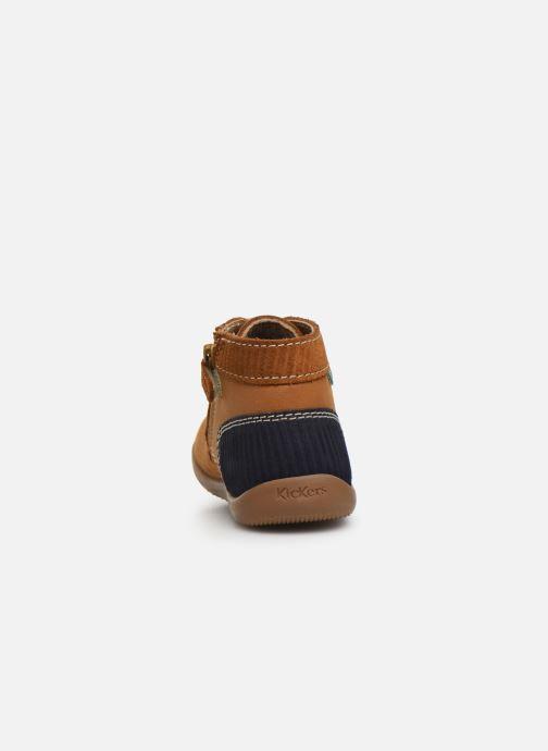 Boots en enkellaarsjes Kickers Bonzip Geel rechts