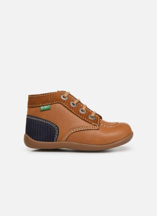Boots en enkellaarsjes Kickers Bonzip Geel achterkant