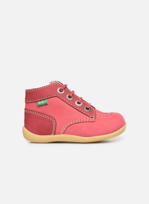 Bottines et boots Kickers Bonzip Rose vue derrière