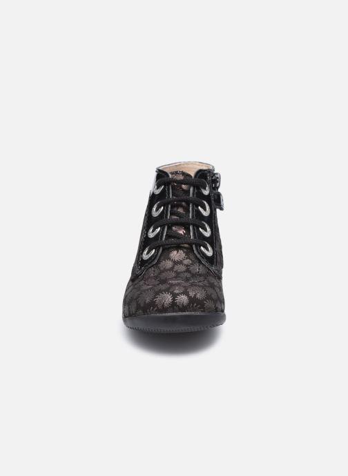 Bottines et boots Kickers Bonzip Noir vue portées chaussures