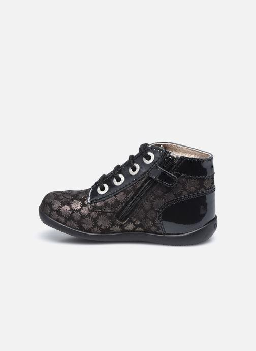 Bottines et boots Kickers Bonzip Noir vue face